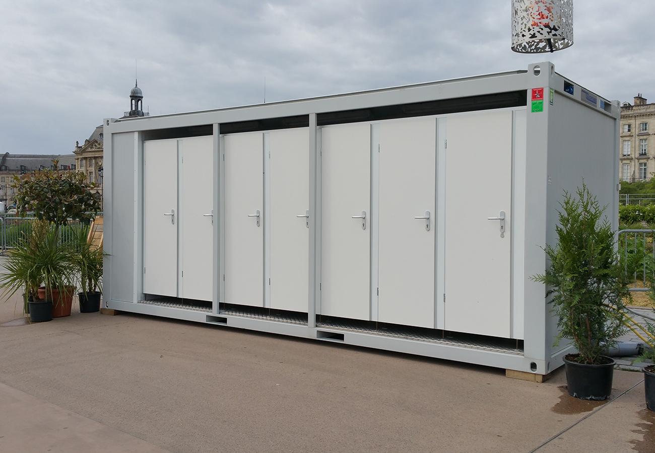 Location Sanitaire Mobile Bordeaux