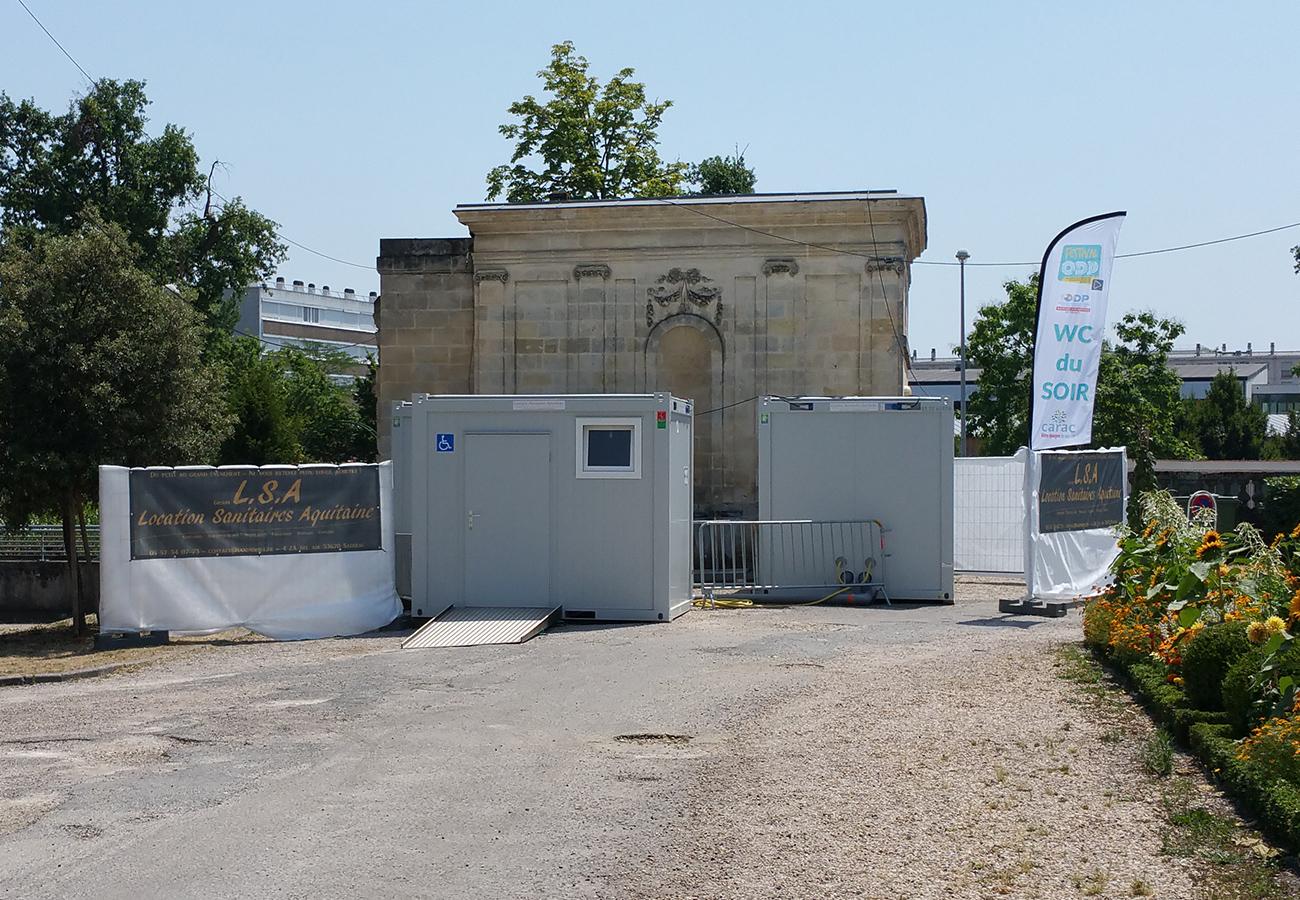 Location Sanitaires événementiel Bordeaux
