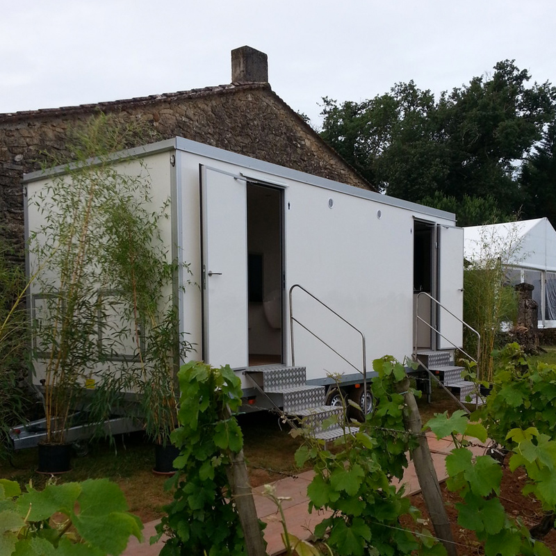 Location De Sanitaires Caravanes Vip En Aquitaine