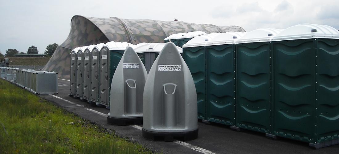 BASE 106 | Toilettes Mobiles